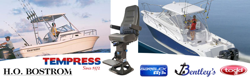 Boat Seats, Helm Chairs, Pedestals