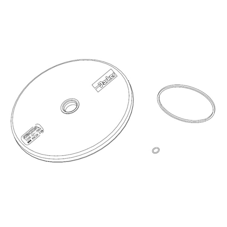 Filter RADWELL VERIFIED SUBSTITUTE MF0576295-SUB Substitute for Main Filter MF0576295