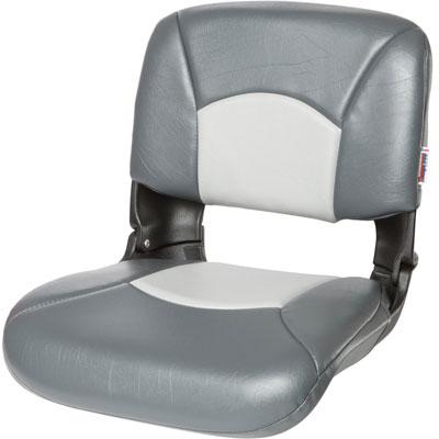 Tempress 54907 NaviStyle High Back Boat Seat Charcoal//Gray Marine Hi-Back