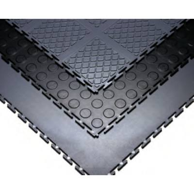 Resilient Vinyl Interlocking Floor Tiles