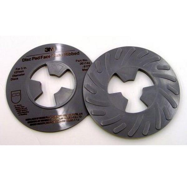 051144-13325 MEDIUM FOR 4 1//2 in Diameter Discs 3M DISC PAD FACE PLATE
