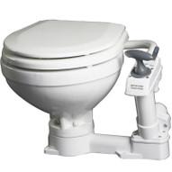 Remarkable Johnson Pump Aqua T Manual Compact Toilet Evergreenethics Interior Chair Design Evergreenethicsorg