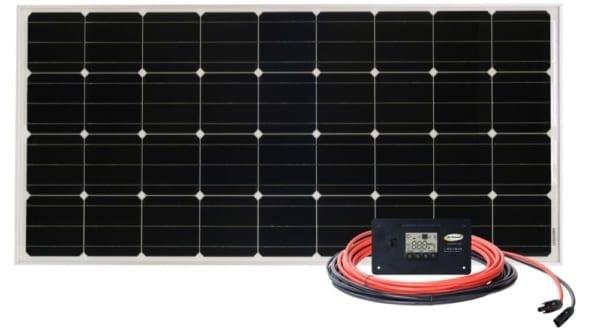 Overlander 12v solar panel complete kit