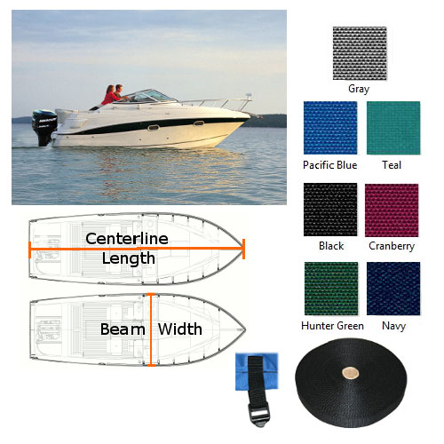 Boat Cover for Regal 1800 1999-2005