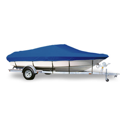 BLUE BOAT COVER FITS DONZI MEDALLION 210 CUDDY I//O 1995 1996