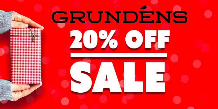 Save 20% on Our annual Grundens Sale