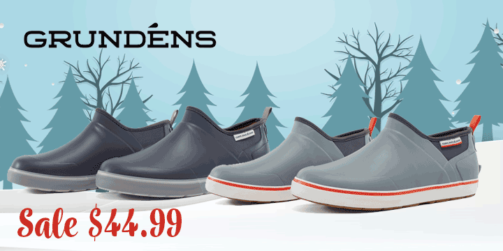 Grundens Great Shoe Sale