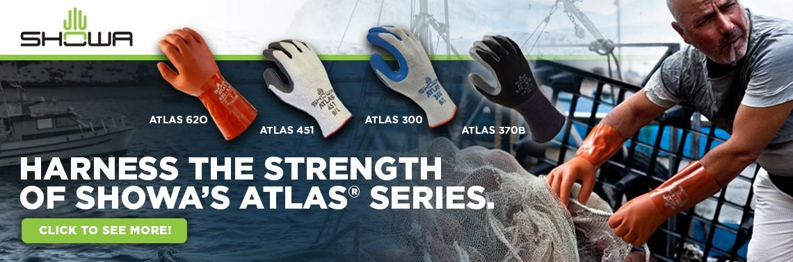 Check out our SHOWA ATLAS gloves